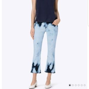 J Brand Selena bootcut midrise skinny crop jeans